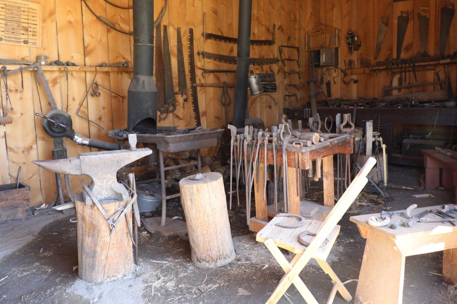 Blacksmith Shop Four Mile Historic Park