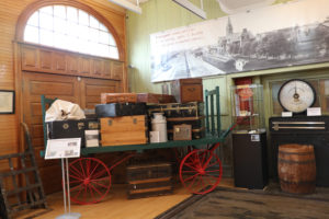 Cheyenne Depot Museum Exhibit
