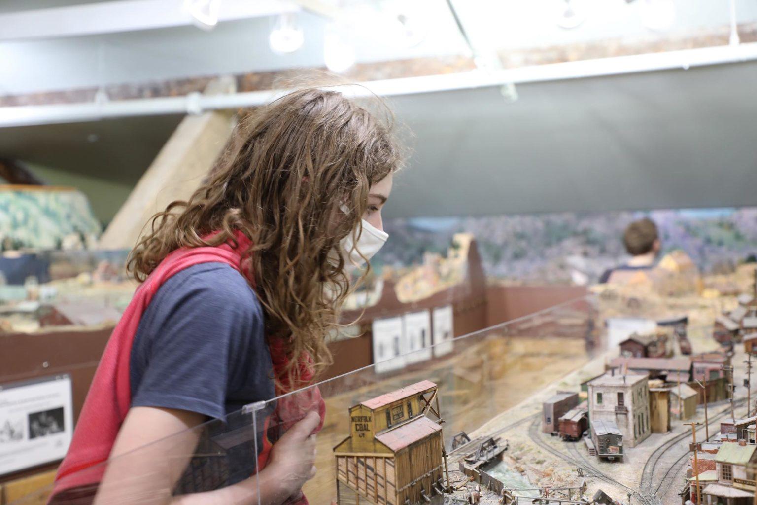 Cheyenne Depot Museum Giant Model Train Exhibit