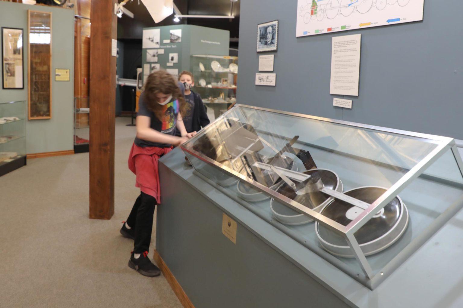Cheyenne Depot Museum Interactive Exhibit