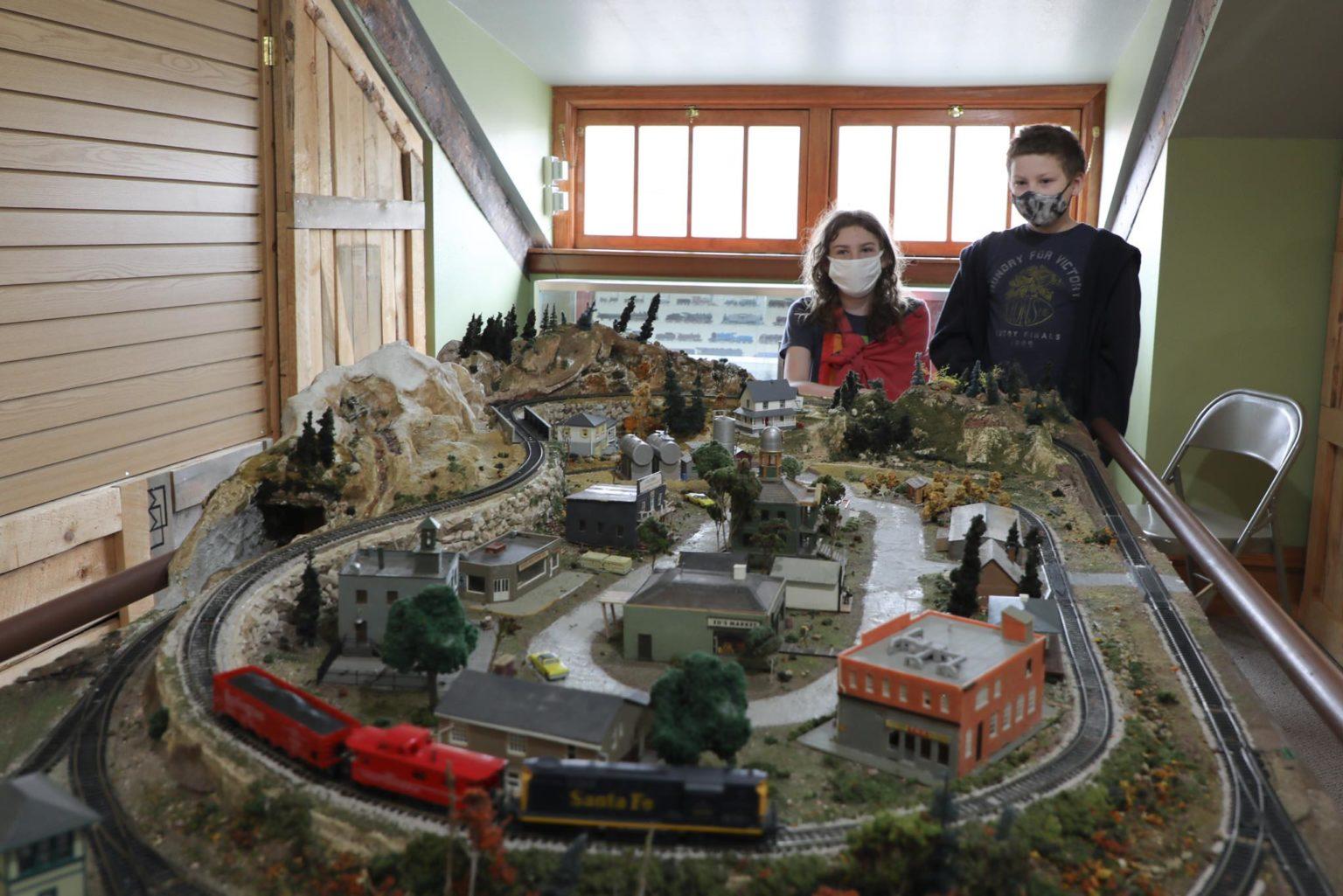 Cheyenne-Depot-Museum Interactive Train Exhibit