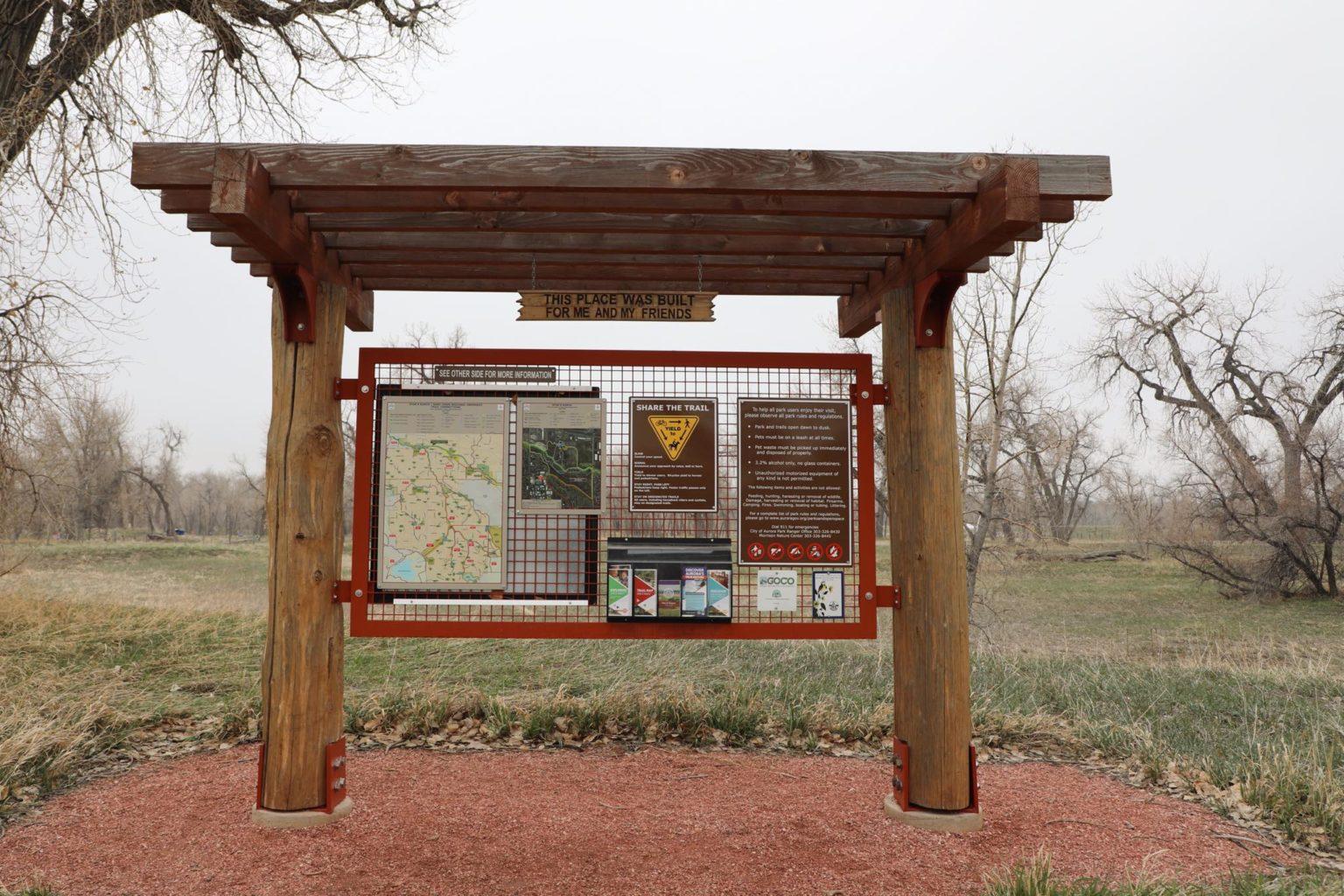 Morrison Nature Center At Star K Ranch Trail Sign