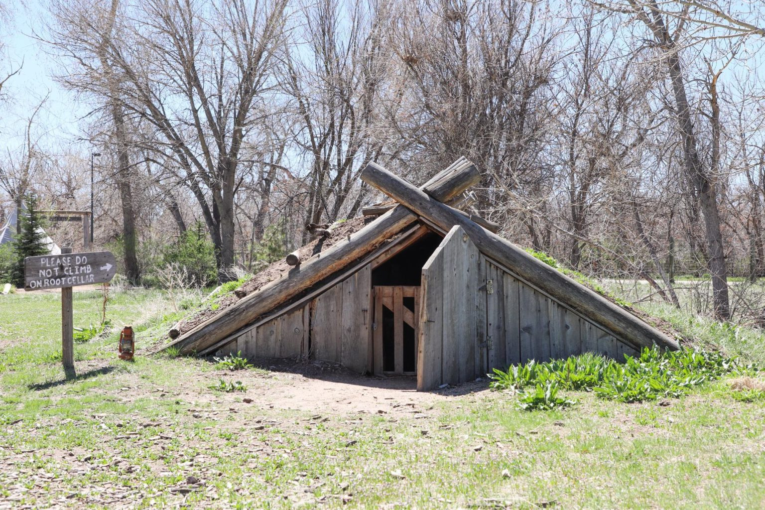 Root Cellar at Four Mile Historic Park