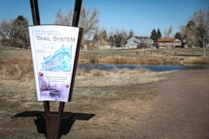 Start Of Trail At Jewell Wetlands Park