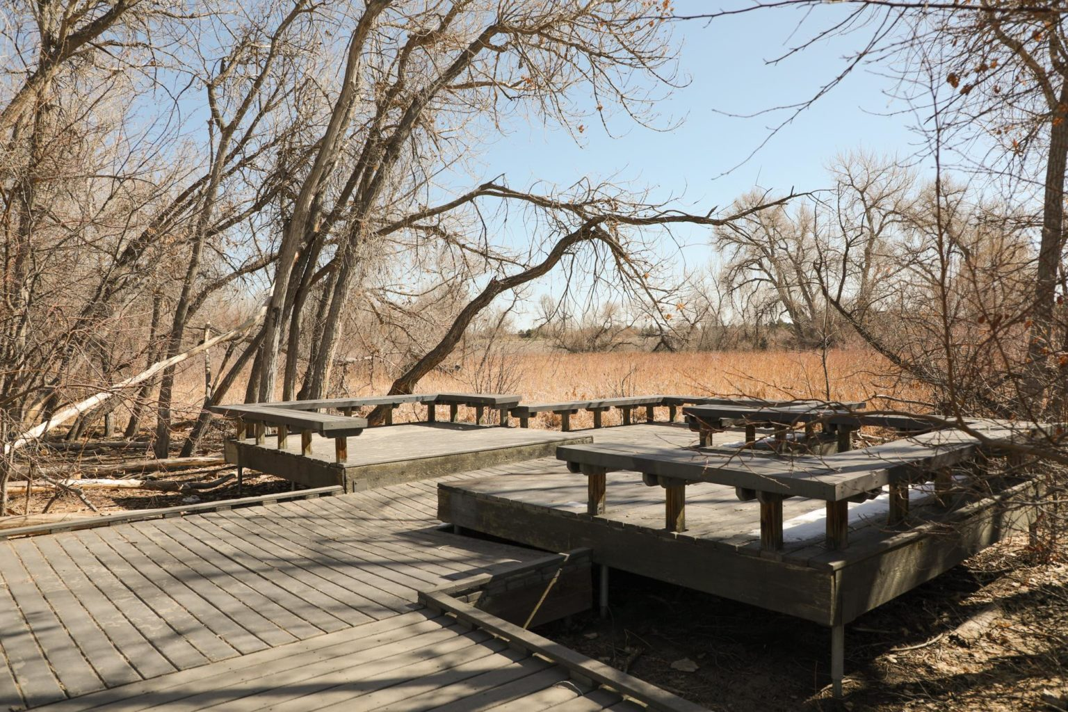 Nature Viewing Area at Jewell Wetlands Park