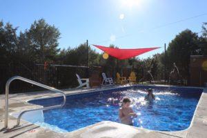 Pool at KOA Campground in La Junta, Colorado