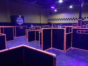 Partial View Of Battle Arena At Dart Wars In Colorado Springs